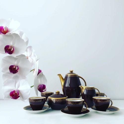 """Serwis do kawy """"Joanna"""" proj. Wincentego Potackiego"""