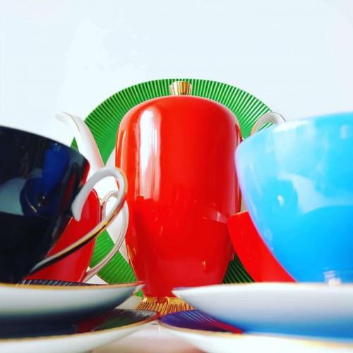 """Serwis kawowy """"Regina"""" Zakładu Porcelany i Porcelitu w Chodzieży"""