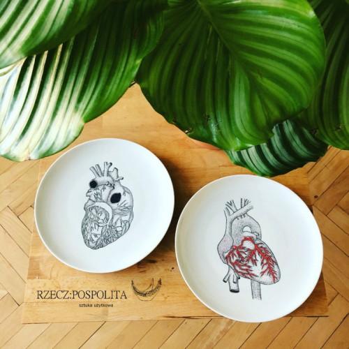 Patera dekoracyjna serce