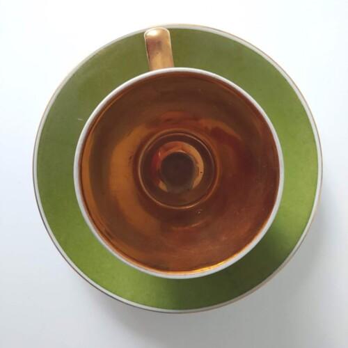 Filiżanka z serwisu kawowego Aldona Kwiatogal