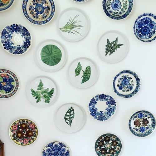 Talerze dekoracyjne na ścianę